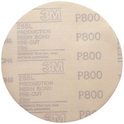 "3M 1070 Hookit™ Film Disc D/F 01070, 6"", P800, 100 discs/bx"