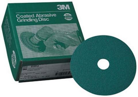 """3M 1921 Green Corps™ Fibre Disc 01921, 7"""" x 7/8"""", 50, 20 discs/bx"""