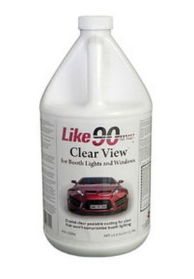 LIKE 90 10034 Light Coat Clear  Peelable Booth Coating, Gallon