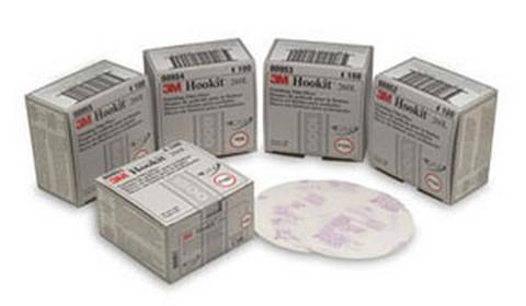"3M 972 Hookit™ Gold Disc 00972, 6"", P500A, 100 discs/bx"