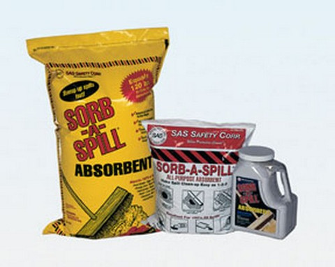 SAS Safety 7702 Sorb-a-spill 10lb Bag 4536 Gr