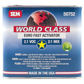 SEM Paints 50752 World Class 2.1 VOC Euro Fast Activator, 2.5Lt Can
