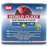 SEM Paints 50762 World Class 2.1 VOC Euro Medium Activator, 2.5Lt Can