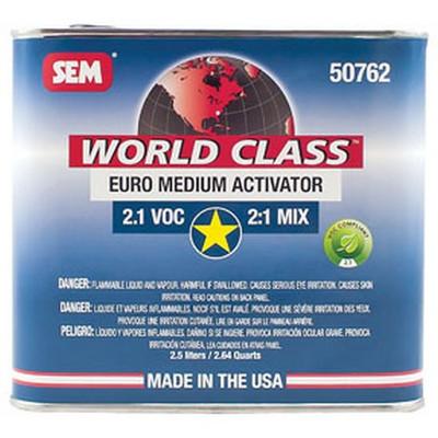 SEM Paints 50762 World Class 2.1 VOC Euro Medium Activator, 2.5Lt Can
