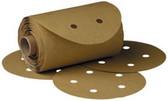"3M 1639 Stikit™ Gold Disc Roll D/F 01639, 6"", P180A, 175 discs/roll"