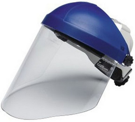 3M 82783 Ratchet Headgear Head and Face Protection with 3M™ Clear Polycarbonate Faceshield