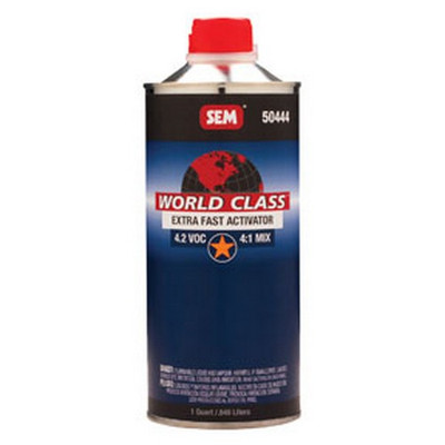 SEM Paints 50444 World Class 4.2 VOC Extra Fast Activator, Cone Quart Can