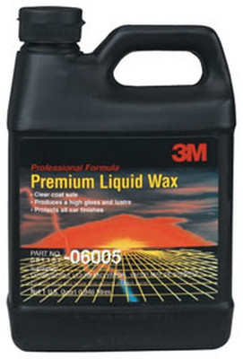 3M 6005 Premium Liquid Wax 06005, 1 Quart