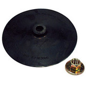 "AES Industries 51824 7"" Back-up Pad with Nut"