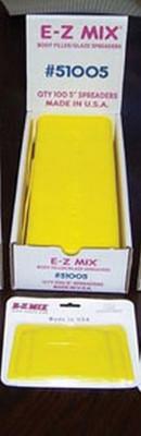 """E-Z Mix 51005  Plastic Filler/ Glaze Spreaders, 5"""" Body Filler/glaze Spreaders"""