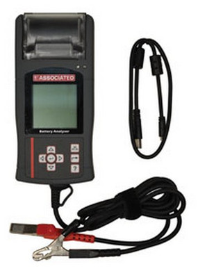 Associated Equipment 12-1015 Digital Battery Electrical System Analyzer Starter w/ Thermal Printer