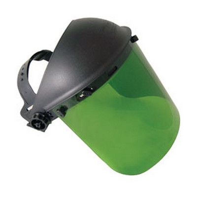 SAS Safety 5142 Standard Face Shield - Dark Green