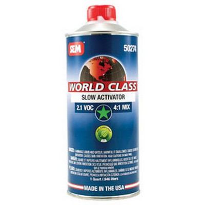 SEM Paints 50274 World Class 2.1 VOC Slow Activator, Cone Quart Can