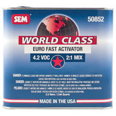 SEM Paints 50852 World Class 4.2 VOC Euro Fast Activator, 2.5Lt Can