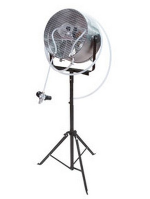 Astro Pneumatic 8750 Waterborne Drying Fan with Stand