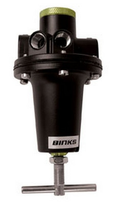 Binks HAR-511 60 CFM Fluid Pressure Tank Regulator