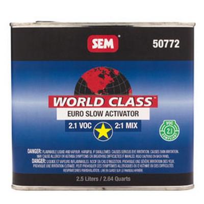SEM Paints 50772 World Class 2.1 VOC Euro Slow Activator, 2.5Lt Can