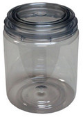 E-Z Mix 10032 E-Z View Clear Plastic Paint Can, Quart