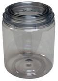 E-Z Mix 10032 E-Z View Clear Plastic Paint Can, Quart