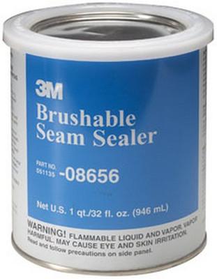 3M 8656 Brushable Seam Sealer 08656, 1 Quart