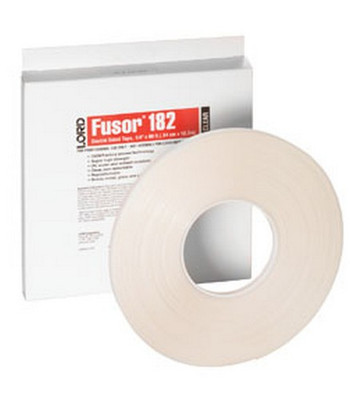 """Lord Fusor 182  Clear Double-Sided Tape, 1/4"""""""