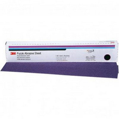 3M 1793 Imperial™ Hookit™ Sheet 740I, 01793, 2-3/4 in x 16-1/2 in, P40E, 25 sheets per box