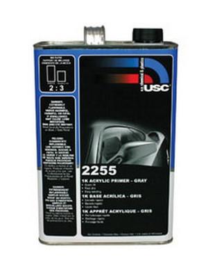 U. S. Chemical & Plastics 2255-1 4.5 VOC 1K Acrylic Gray Primer - Gallon