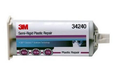 3M 34240 Semi-Rigid Plastic Repair, 50 mL