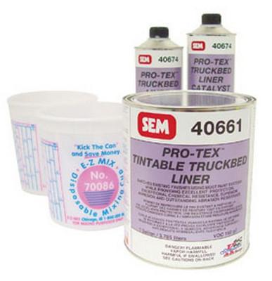 SEM Paints 40660 Pro-tex™ Tintable Truckbed Liner Kit