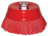 Dominion Sure Seal TNBC Nylon Cup Brush, Nylon Cup Brush 6""