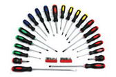 ATD Tools 6198 22 Pc. Screwdriver with 16 Pc. Bit Set