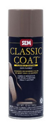 SEM Paints 17073 Classic Coat Medium Dark Graphite, 16oz Aerosol Can