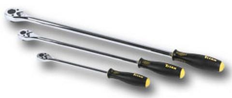 Titan Tools 11360 Low Profile XL Ratchet Set, 3Pc