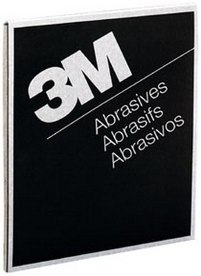 "3M 2000 Wetordry™ Tri-M-ite™ Sheet 02000, 9"" x 11"", 600A, 50 sheets/sleeve"