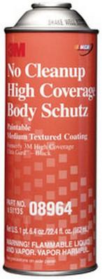 3M 8964 No Cleanup High Coverage Body Schutz™ Coating 08964, 22 fl oz