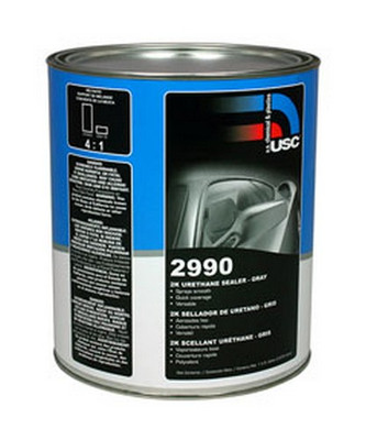 U. S. Chemical & Plastics 2990-1 Gray 2K Urethane Sealer, Gal