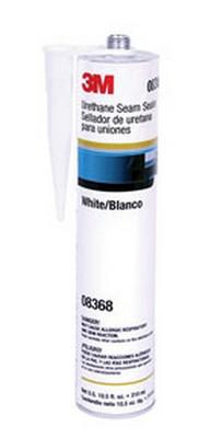 3M 8368 Urethane Seam Sealer, White, 310mL Cartridge