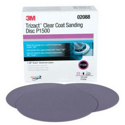 3M 2088 Trizact™ Hookit™ Clearcoat Sanding Disc