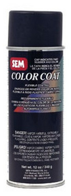 SEM Paints 15373 Color Coat- Flame Red, 16oz Aerosol Can