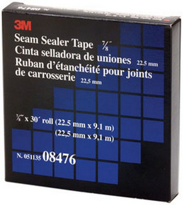 """3M 8476 Seam Sealer Tape, 7/8"""" x 30'"""