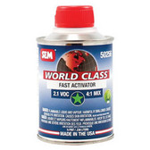 SEM Paints 50256 World Class - 2.1 VOC Fast Activator, 1/2 Pint Can