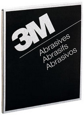 "3M 2002 Wetordry™ Tri-M-ite™ Sheet 02002, 9"" x 11"", 400A, 50 sheets/sleeve"