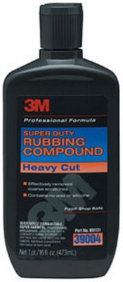 3M 39004 Super Duty Rubbing Compound 39004, 16 oz