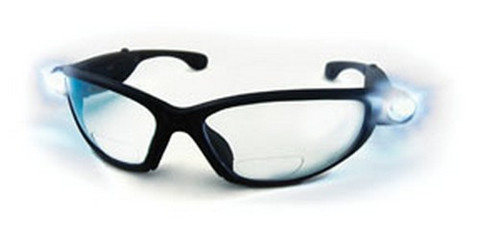 SAS Safety 5420-15 LED Inspectors Readers, 1.5x Safety Glasses