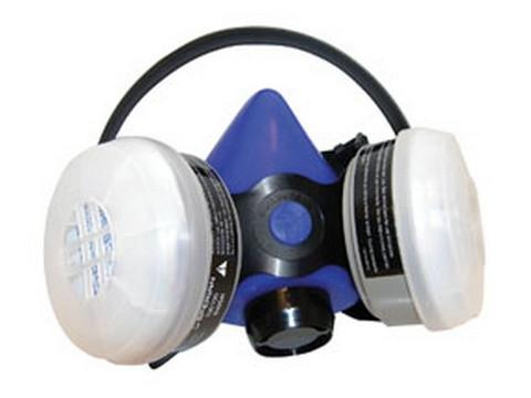 SAS Safety 2761-50 Professional Blue Halfmask Respirator, (Organic Vapor/N95 Particulate), large