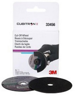 "3M 33456 3"" X .04"" X 3/8"" Cubitron™ II Cut-Off Wheel"