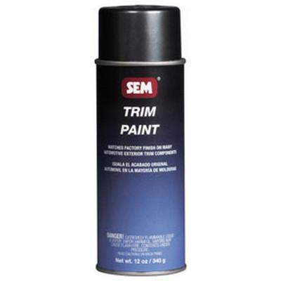 SEM Paints 39033 Bumper Charcoal Trim Metallic, 16oz Aerosol Can