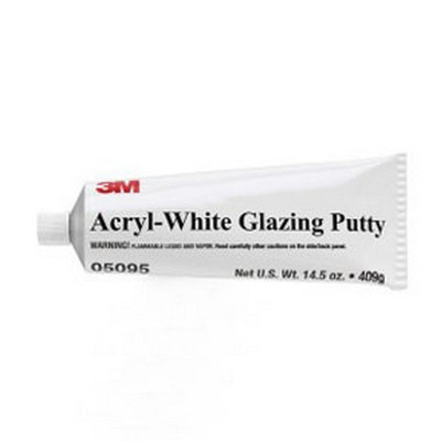 3M 5095 Acryl-White Putty, 14.5 oz Tube