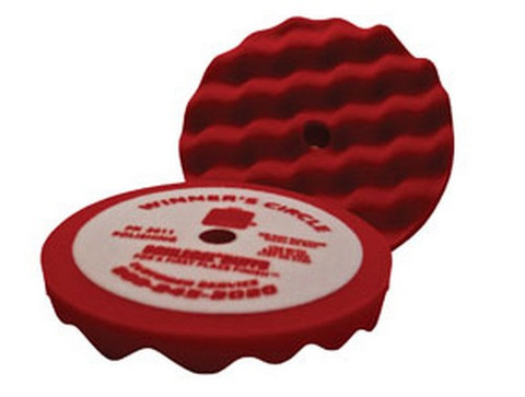 Schlegel 2011 Winner's Circle Convoluted Foam Polishing Pad, 8""