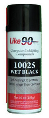 LIKE 90 10025 Dry Film Clear Aerosol, black